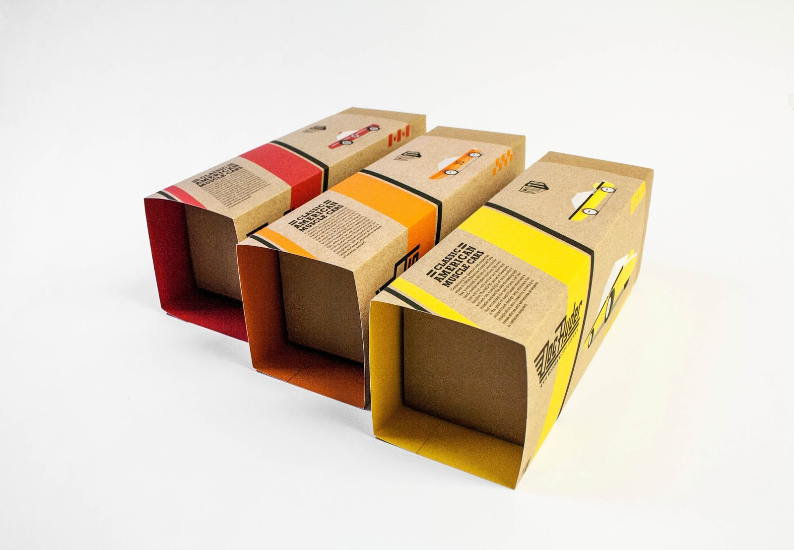 Candylab Toys Vintage Wooden Cars Student Project On Packaging Of