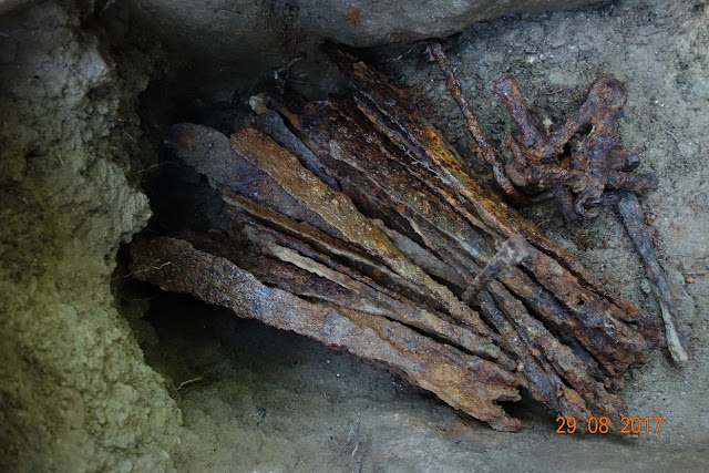 Medieval iron hoard found in Slovakia
