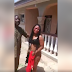 Lady Humiliated & Stripped Unclad After She Was Caught Still From A Guy's House
