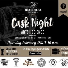 http://collectiveartsbrewing.com/events/cask-night-the-brewery/