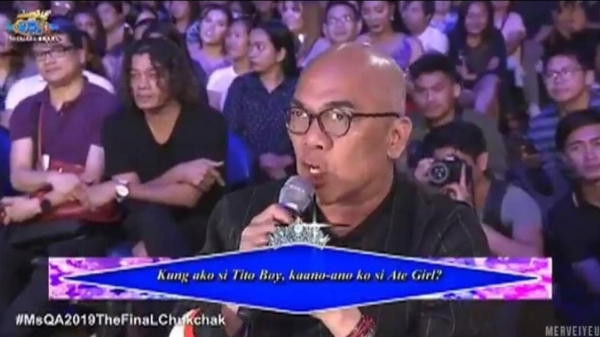 Boy Abunda earns mixed reactions online for questions on Miss Q & A