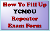 Ycmou Repeater (ATKT) Exam  2019