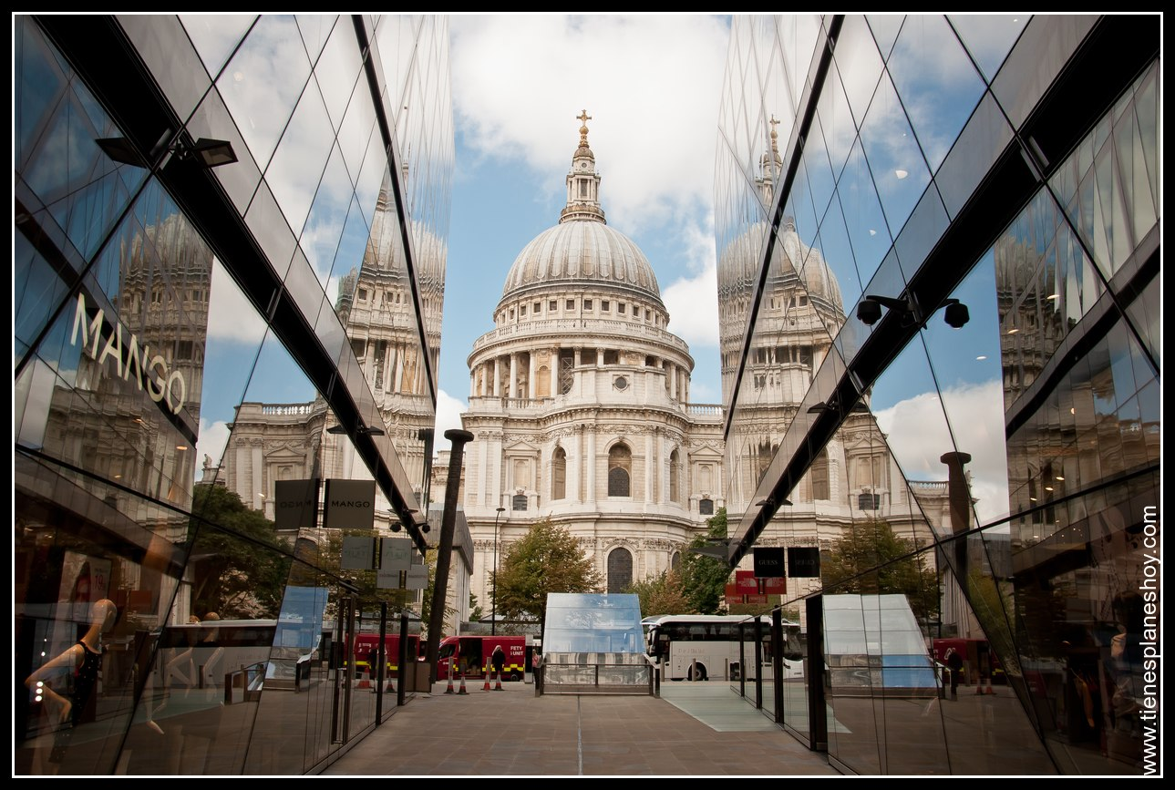Catedral de St Paul Londres (London) Inglaterra desde Galeria