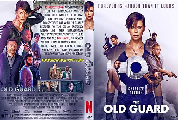 The Old Guard (2020) DVD Cover