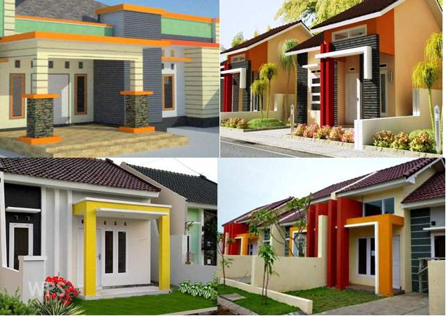55 Model Tiang Teras Rumah Minimalis Batu Alam Rumah