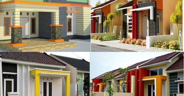 Warna Tiang Teras Rumah Minimalis Icon Rumah