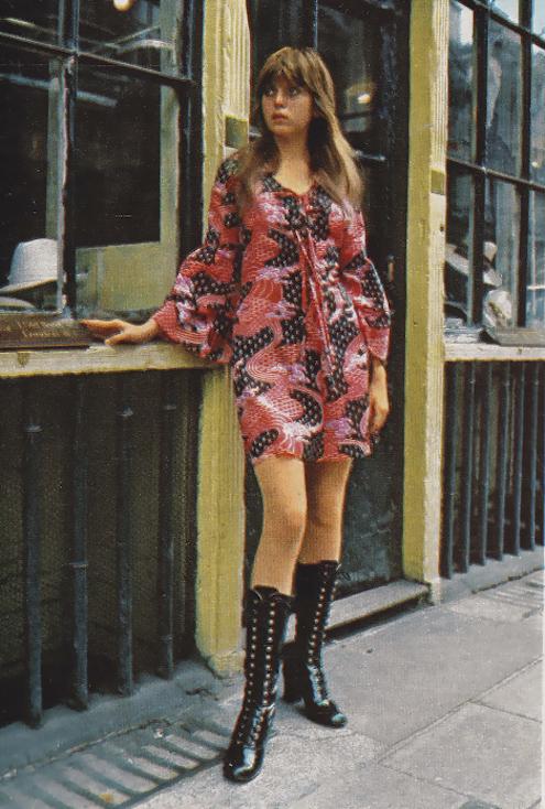 Sweet Jane blog, Lee Bender, Bus Stop boutique, London 1970s, mini dress