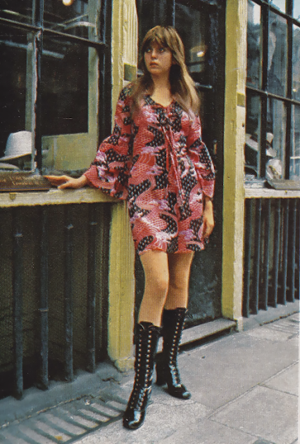 Sweet Jane blog, Lee Bender, Bus Stop boutique, London 1970s, mini dress