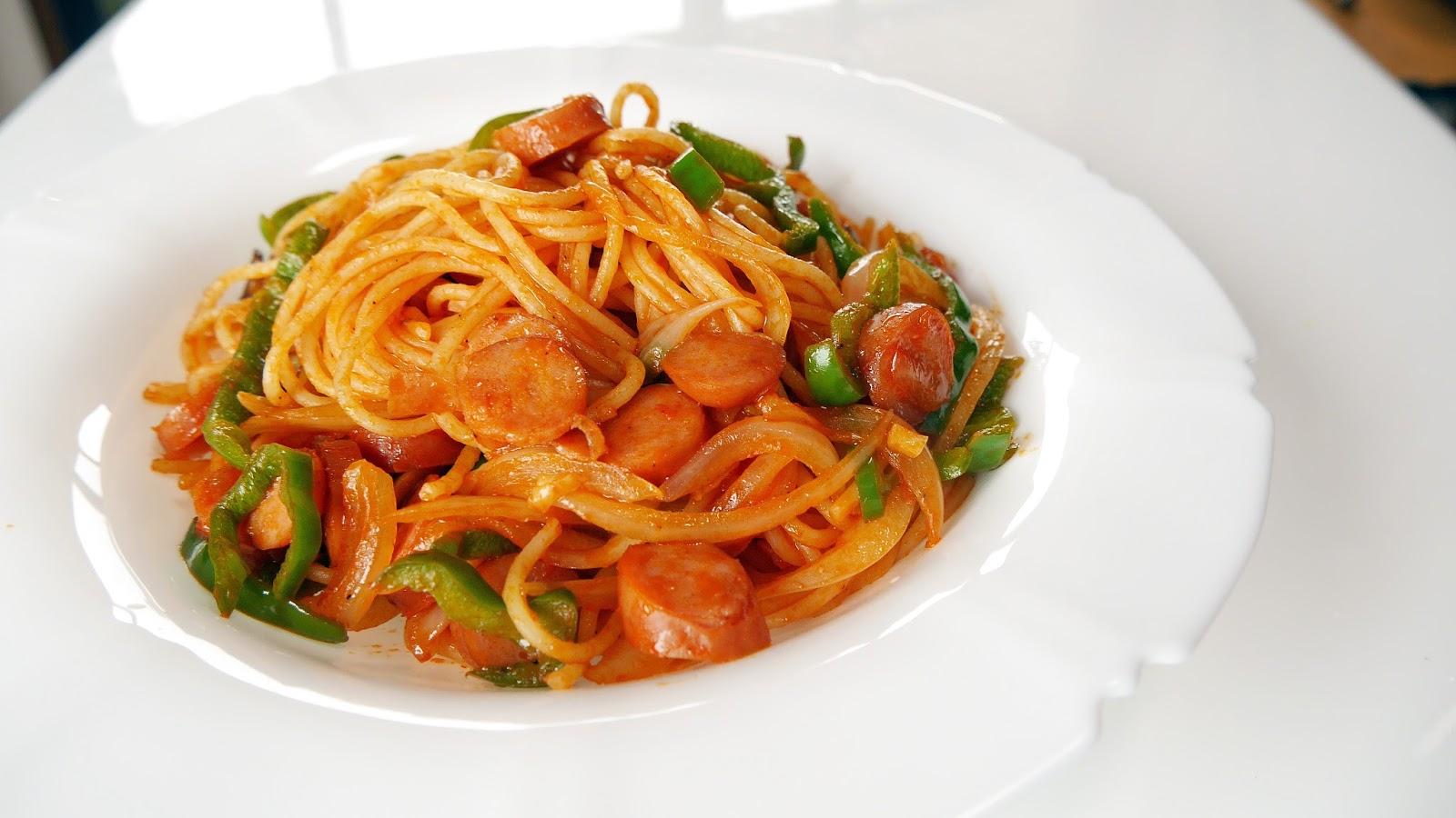 Tabieats Japanese Spaghetti Napolitan