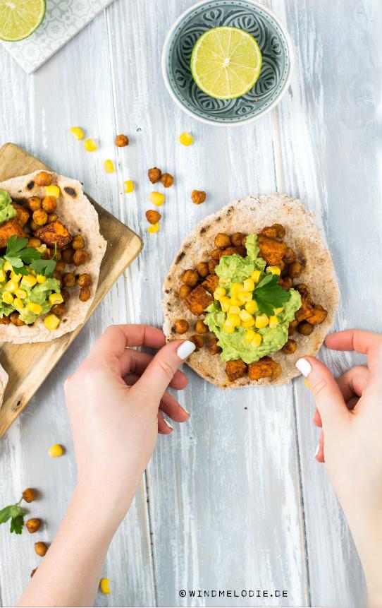 Tortillas selber machen vegan glutenfrei Rezept