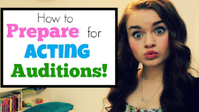 How to prepare for acting auditions