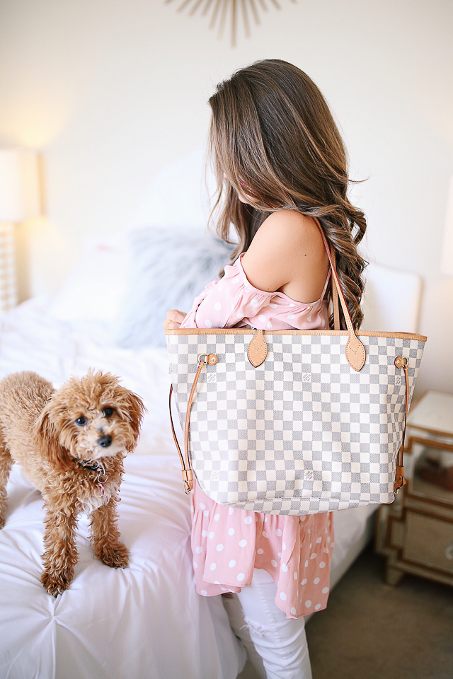 c381d44f7d26 Louis Vuitton Neverfull Review + What s In My Bag! – Southern Curls ...