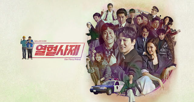 the fiery prist kdrama Kim Nam Gil