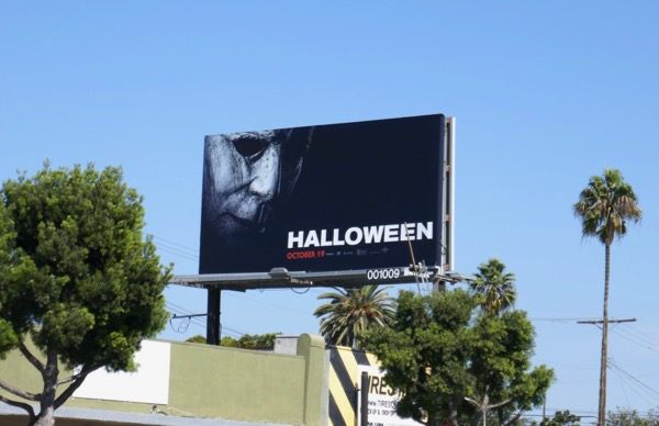 Halloween 2018 billboard