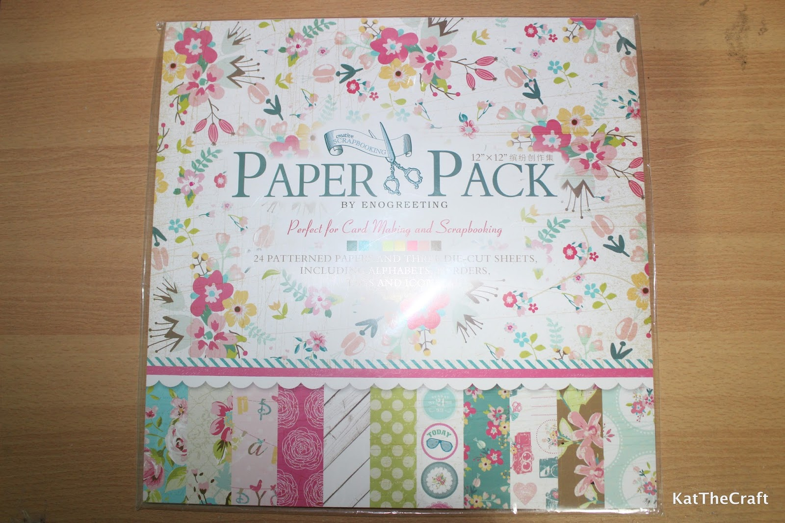 So many things to do so little time paper craft scrapbook i got two packs of 12 x 12 inches patterned paper each pack costs php 150 a little over 3 and contains 24 sheets of patterned paper and three die cut jeuxipadfo Image collections