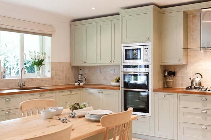 nötr renk mutfak dolabı modelleri
