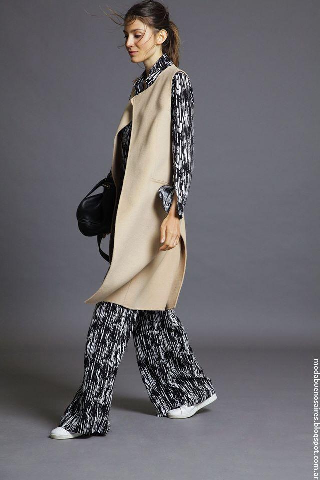 Moda invierno 2016 ropa de mujer Awada moda 2016.