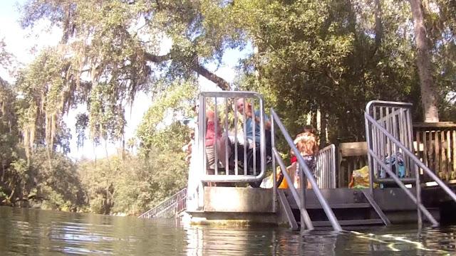 Rollstuhlgerecht in Blue Spring State Park, Florida USA
