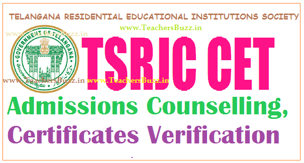 TSRJC COUNSELLING