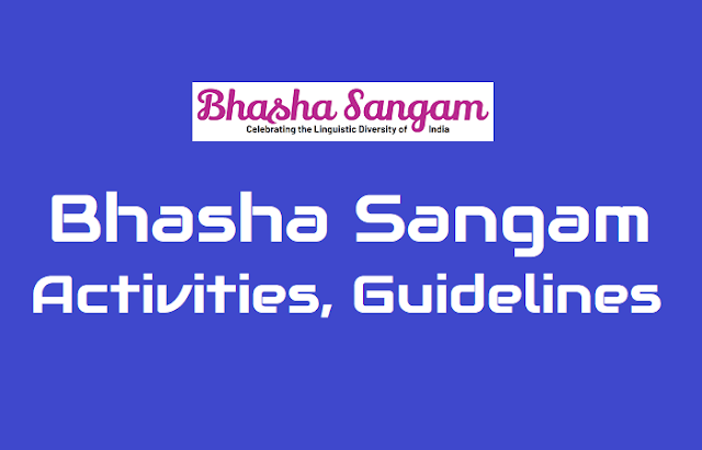 bhasha sangam programme activities, bhasha sangam guidelines for ap ts schools and celebrating the linguistic diversity of india