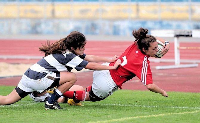 Benfica Râguebi Feminino Campeão Nacional