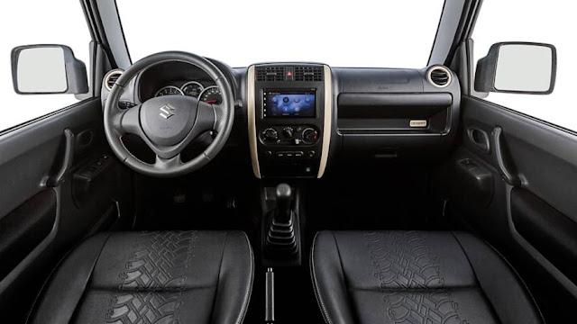 Suzuki Jimny Desert Interior