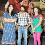 Anushka,Amala Paul,Vikram at Nanna Telugu Movie Press Meet