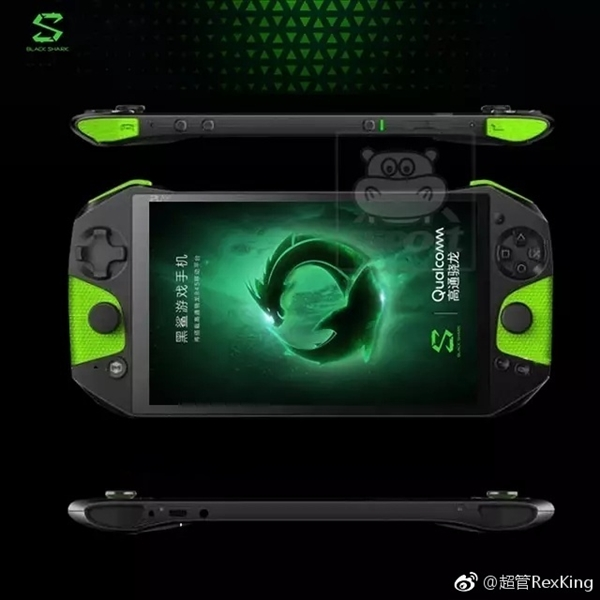 Xiaomi Blackshark Looks Like a Handheld Game Console