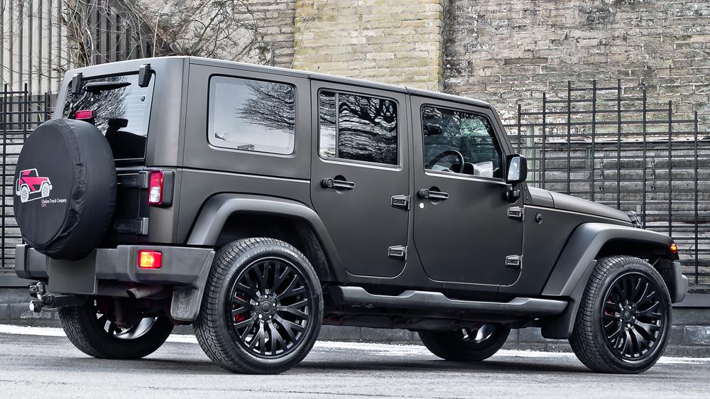 Jeep Wrangler Diesel 2016 Mobil Baru
