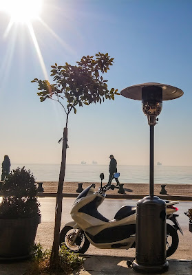 View from local cafe - Thessaloniki