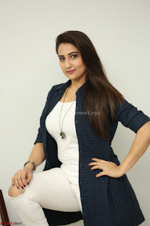 Manjusha in White Tight T Shirt and Black Jacket ~  Exclusive Celebrities Galleries 015
