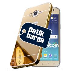 Casing Metal Bumper Mirror for Samsung Galaxy J5 – Gold