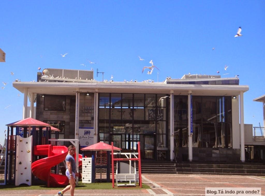 Nelson Mandela Gateway pra Robben Island