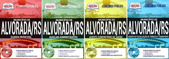 concurso Prefeitura de Alvorada 2017