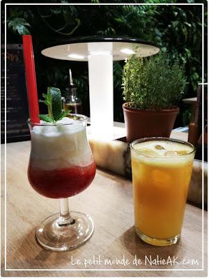 Cocktail sans alcool de Vapiano