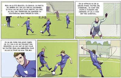 Arrêt de jeu - une BD sur le monde du football