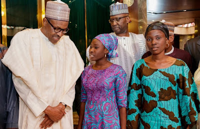I Can't Fully Express The Joy I Felt As Fathers, Mothers, Sons And Daughters Released From Boko Haram Captivity— Buhari