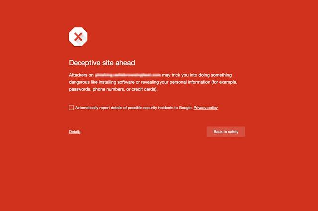 Kebijakan baru Google Safe Browsing, Pencadangan Webmaster selama 30 hari bagi Pengulang Pelanggaran