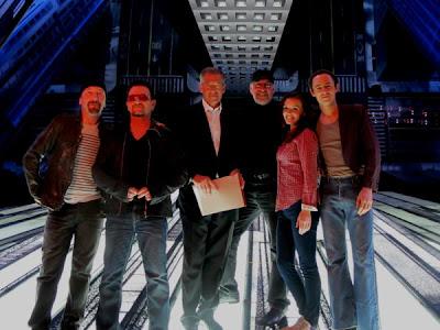 Bono y Edge estuvieron en el programa  de la NBC, Nightly News
