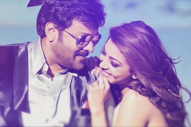 chiranjeevi, kajal agarwal latest song you and me Stills