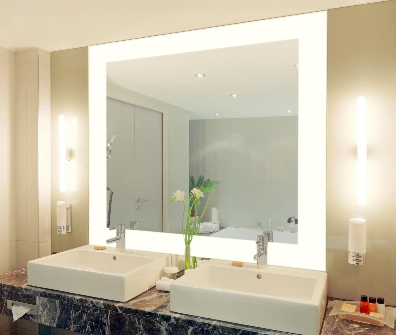 spiegel mit beleuchtung amazon hause dekoration ideen. Black Bedroom Furniture Sets. Home Design Ideas