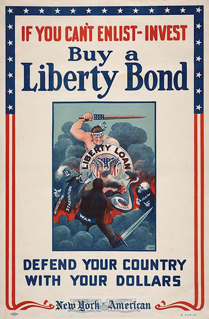 If You Can't Enlist - Invest / Buy a Liberty Bond, ca. 1918, Winsor McCay.