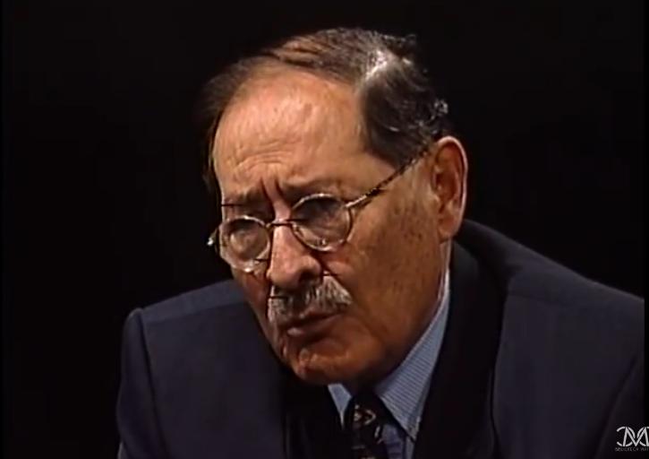 Guillermo Bedregal fue un hombre de alianzas en la historia política boliviana / CAPTURA BLOG CARLOS MESA
