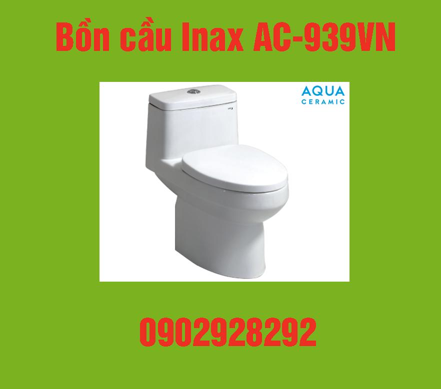 Bồn cầu Inax ac-939vn : giá, đặc điểm, địa chỉ