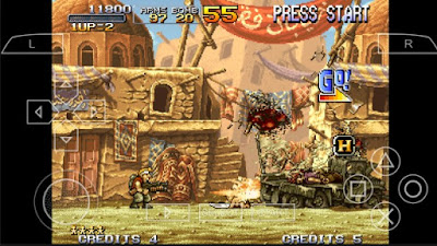 Download Metal Slug 2 CSO PSP PPSSPP