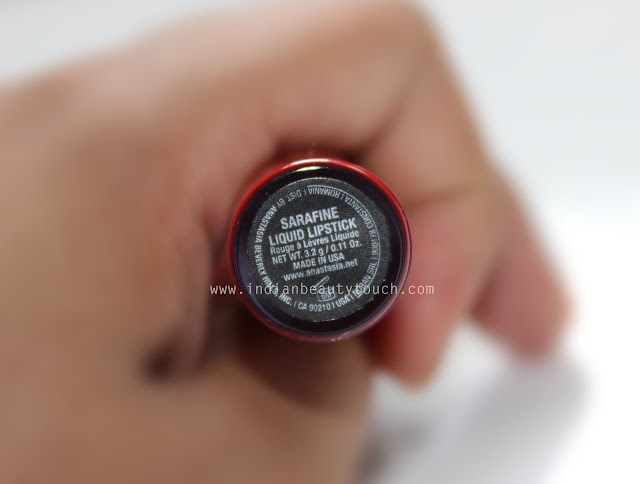 Anastasia beverly Hills, Anastasia Beverly Hills Liquid Lipstick in Sarafine Review & Swatches, Red lipstick, Lipstick, Lips, Red Lipstick for Indian skin, Matte Lipsticks