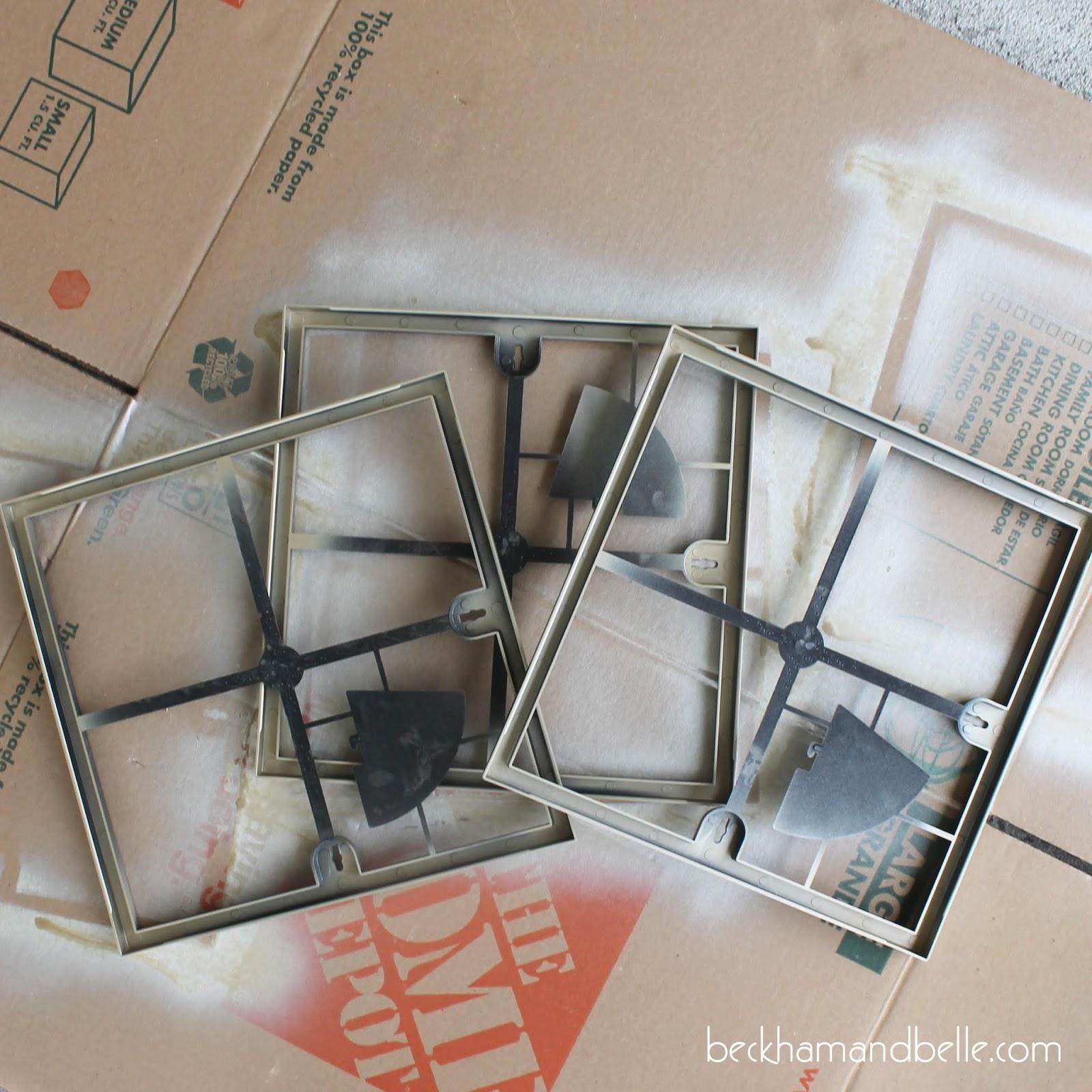 Simple Scrapbook Paper Wall Art - Beckham + Belle