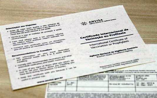 Certificado de Vacinação para entrar em Milão na Itália
