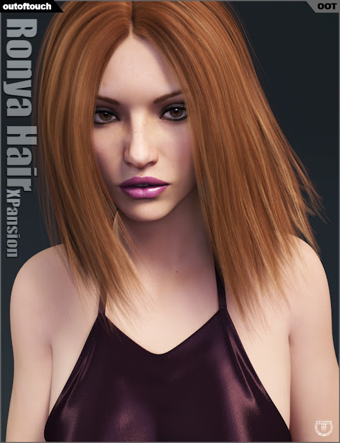 Ronya Hair Iray Texture XPansion