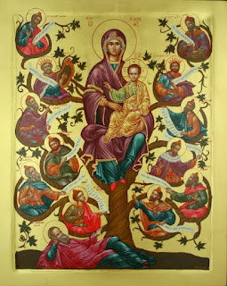 Tree of Jesse Icon
